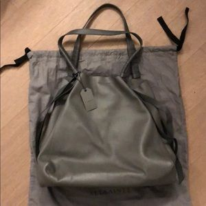 fb6437b30487 All saints NWT Voltaire leather tote bag